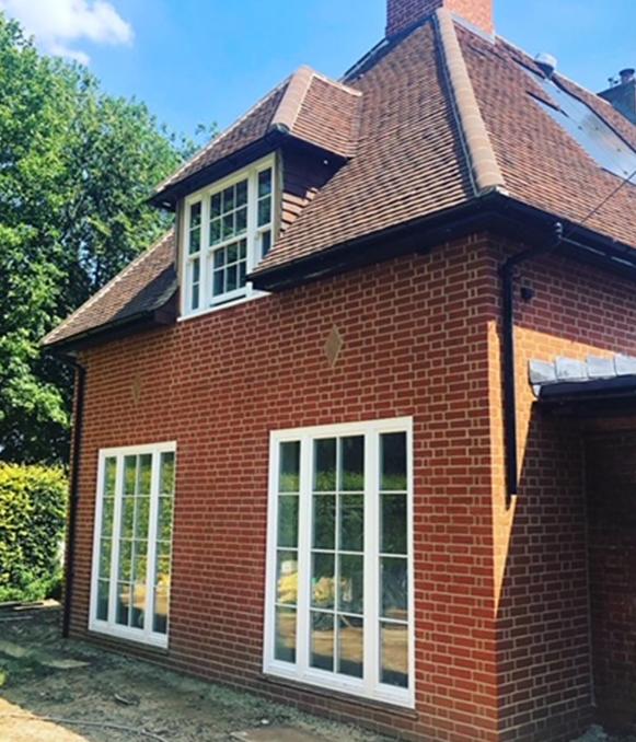 brick extension builders Buckinghamshire
