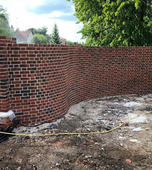 brickwork in Staines