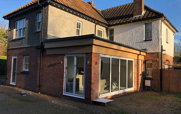 building extension buckinghamshire